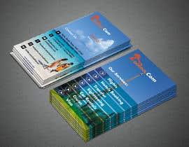 Nro 20 kilpailuun Business card for travel services  company käyttäjältä ekdalim