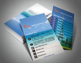 Nro 21 kilpailuun Business card for travel services  company käyttäjältä ekdalim