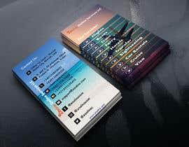 Nro 33 kilpailuun Business card for travel services  company käyttäjältä ekdalim