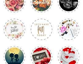 #26 for I need 5-6 design images PNG  to be printed on popsockets by TaniaNagiller