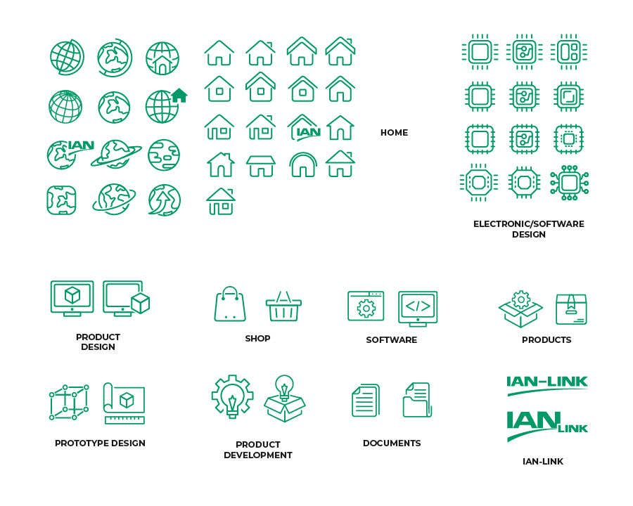 Proposition n°15 du concours Icon / Pictogram Design of 10 categories
