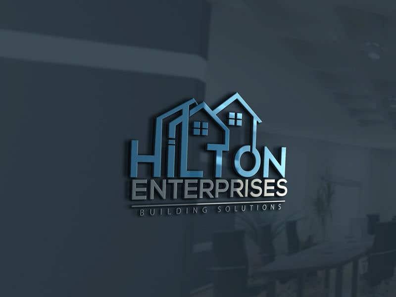 Kilpailutyö #760 kilpailussa Business logo for building company