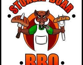 #59 untuk Stoagie Boar BBQ - Logo oleh FinoDesignINK