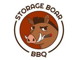 Nro 63 kilpailuun Stoagie Boar BBQ - Logo käyttäjältä Millia91