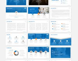 #12 untuk Professional business PowerPoint template( pitch deck slides) oleh Nirob95