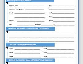 #29 for Graphic Design Application Form by ashswa