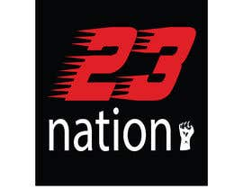 #29 for I need 'nation' in white writing sloped though the number 23 by mehedihasan33591
