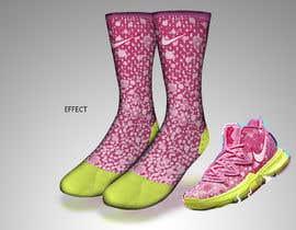 Nro 10 kilpailuun Create a fun sock design to match a shoe käyttäjältä sajeebhasan177
