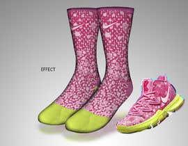 Nro 11 kilpailuun Create a fun sock design to match a shoe käyttäjältä sajeebhasan177