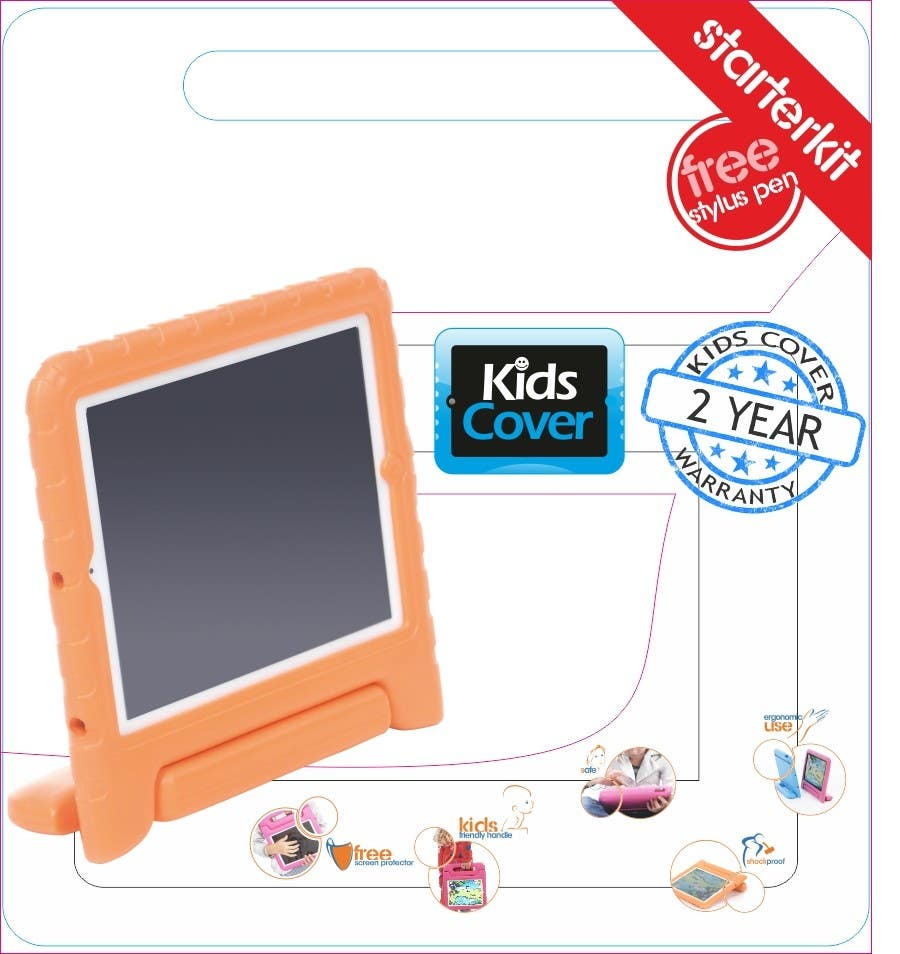 Contest Entry #                                        8                                      for                                         Packaging Design for Shockproof Kids iPad Case