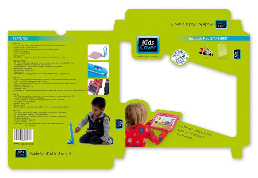 Bài tham dự cuộc thi #                                        1                                      cho                                         Packaging Design for Shockproof Kids iPad Case