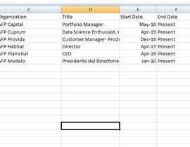 #45 cho Data Entry - Linkedin bởi limon0022