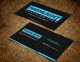 #28 para Business Card Design for Highlight Triathlon Team por sulemankhan2010