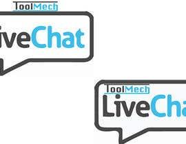 Nro 12 kilpailuun Design a live chat logo käyttäjältä MohitGarg452