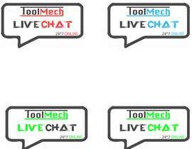 Nro 13 kilpailuun Design a live chat logo käyttäjältä MohitGarg452