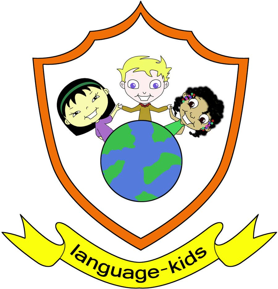 Contest Entry #                                        7                                      for                                         Logo Design for Language Kids Company / Looking for ongoing illustration and design help as well