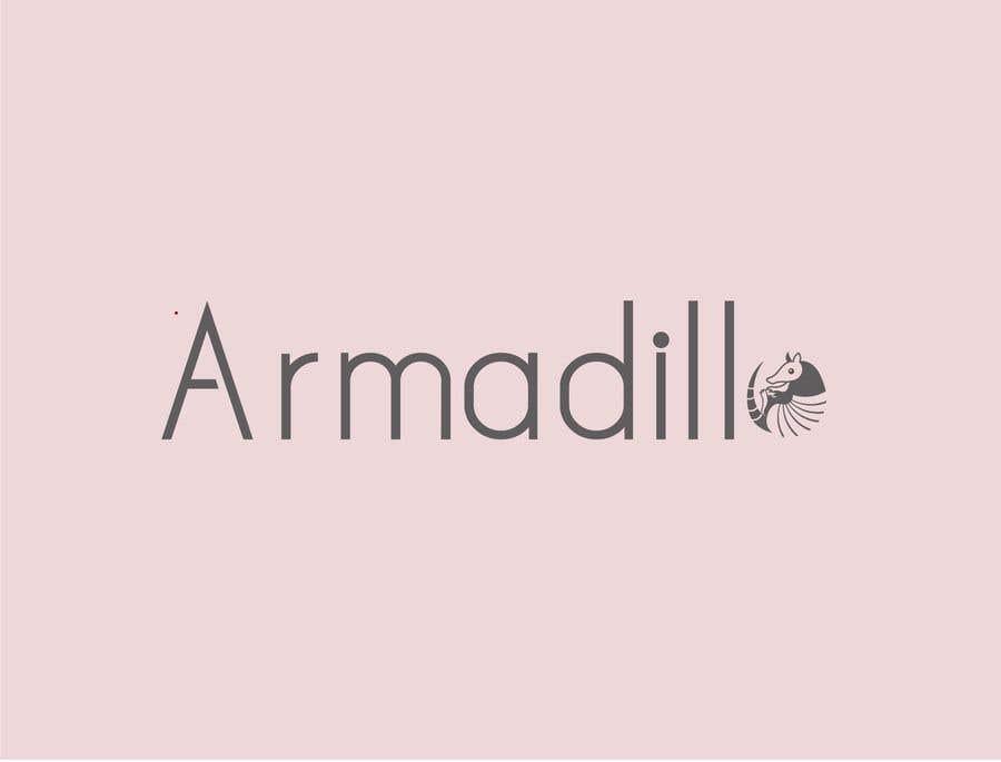 Penyertaan Peraduan #503 untuk Armadillo Logo
