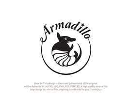 #612 untuk Armadillo Logo oleh MUSTAFAGUL100