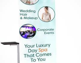 #22 para Design a Vertical Banner for a Spa Company por abhikreationz