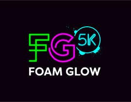 """#888 for Need logo for event called """"Foam Glow 5K"""" af xexexdesign"""
