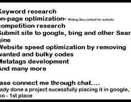 #1 for What SEO can you do for my website for $15 ? - The best offer wins! by deepakrawat3993