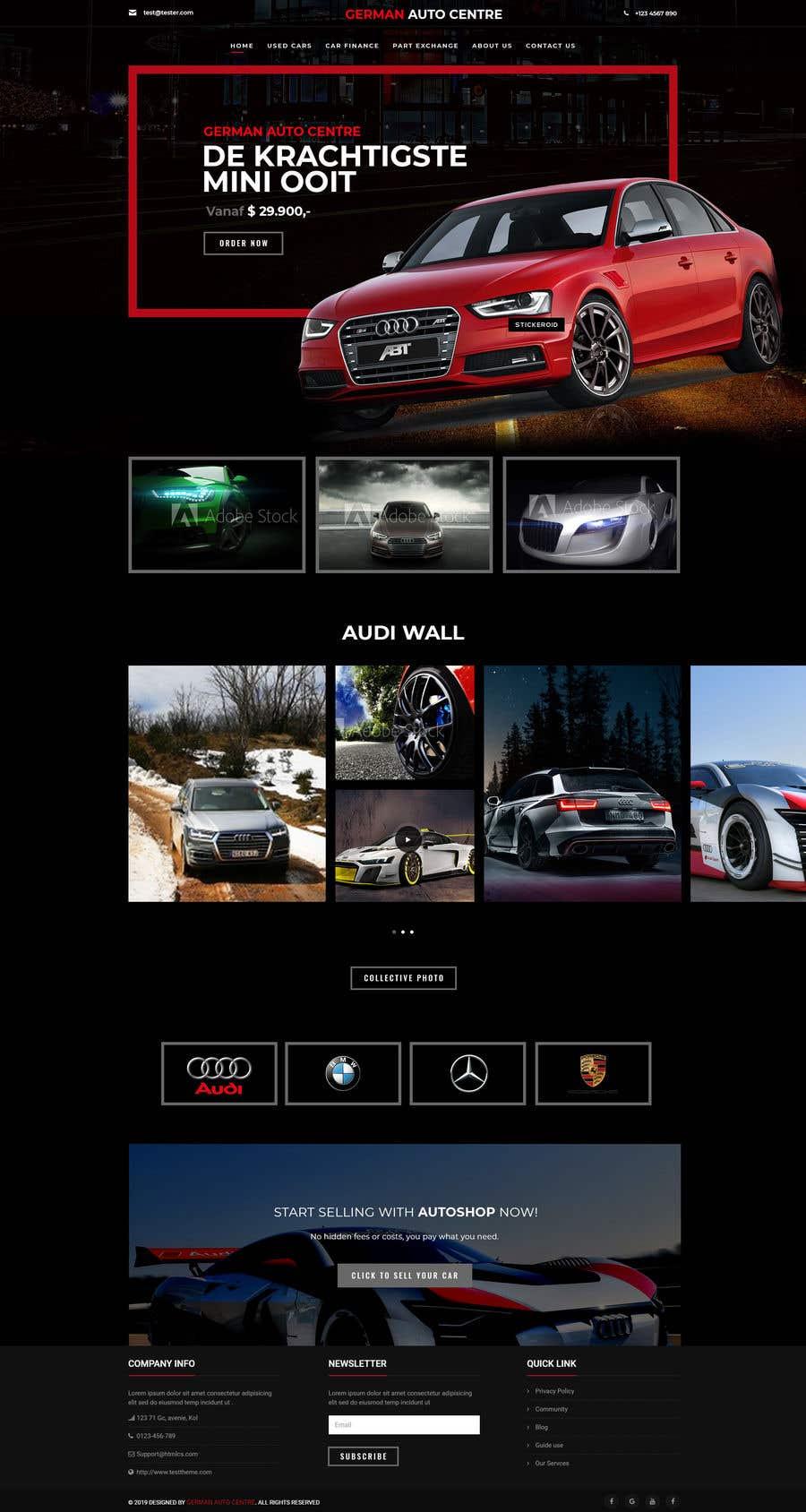 Used Car Dealer Fees >> Entry 103 By Sujaykar For Used Car Dealer Website Freelancer