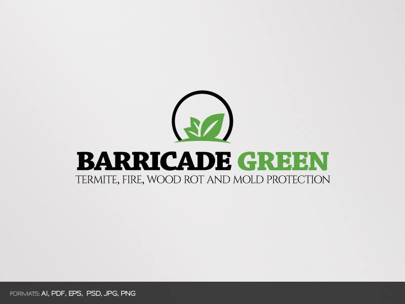 Kilpailutyö #                                        58                                      kilpailussa                                         Design a Logo for BarricadeGreen