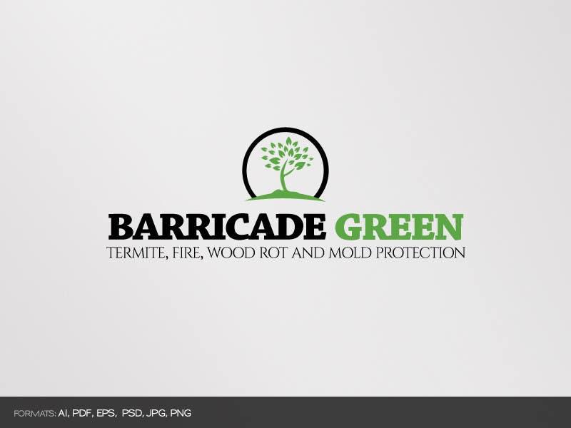 Kilpailutyö #                                        60                                      kilpailussa                                         Design a Logo for BarricadeGreen