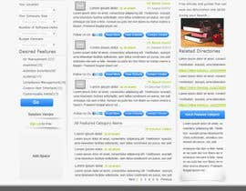 nº 10 pour Design one Search Results homepage par rana60