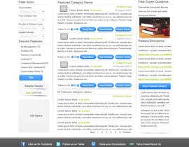 nº 12 pour Design one Search Results homepage par rana60