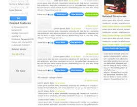 nº 20 pour Design one Search Results homepage par rana60