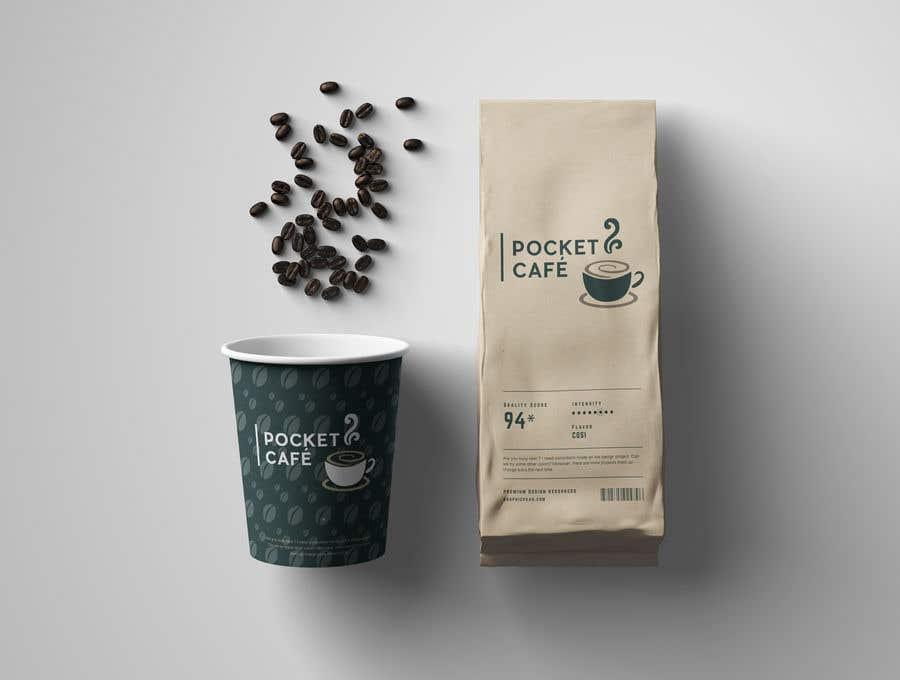 Inscrição nº 13 do Concurso para 1 Logotipo para cliente: Pocket café
