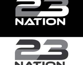 #12 untuk Need the logo on black and white and the nation removed across the front oleh layesmahfuj