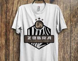 nº 32 pour Zebra Volleyball Image for Tshirt par almamun5436
