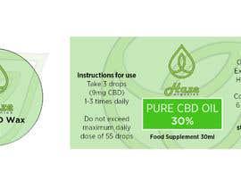 #2 untuk 2 Packaging templates for CBD Company oleh Naseem065