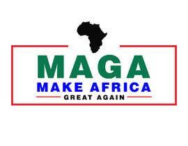 #233 untuk Make Africa Great Again (MAGA) - Logo Graphic Design oleh hannanget