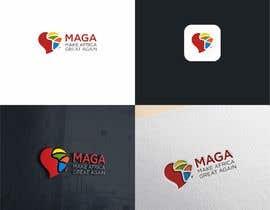 #50 untuk Make Africa Great Again (MAGA) - Logo Graphic Design oleh fimbird
