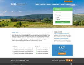 #7 untuk Website Design for an Australian Association for Unmanned Systems oleh Pavithranmm