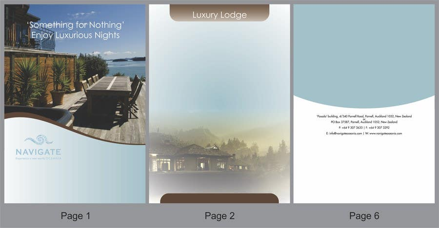Contest Entry #                                        3                                      for                                         Brochure Design for Navigate + (Plus)