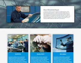 #30 cho Windshield Repair Web Page bởi indevdesign