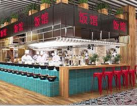 #25 para All you can eat Restaurant /Bar Interior Design por Maryturenko