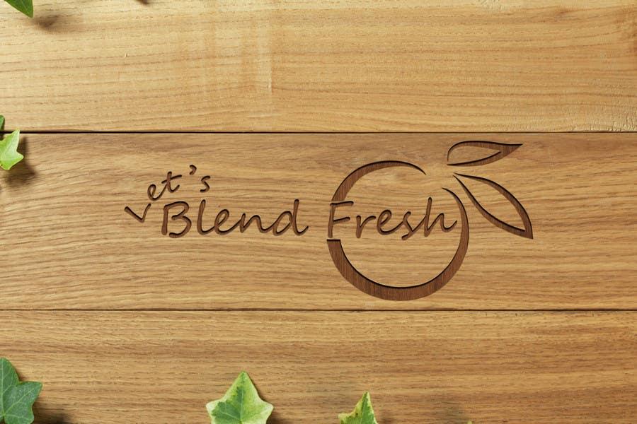 Bài tham dự cuộc thi #                                        20                                      cho                                         Redesign a Logo for Let's Blend Fresh