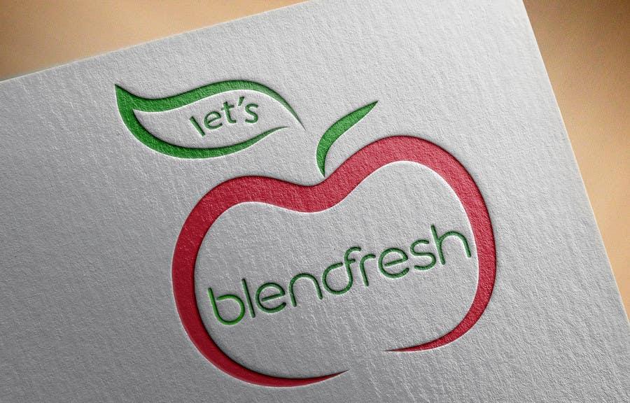 Bài tham dự cuộc thi #                                        21                                      cho                                         Redesign a Logo for Let's Blend Fresh