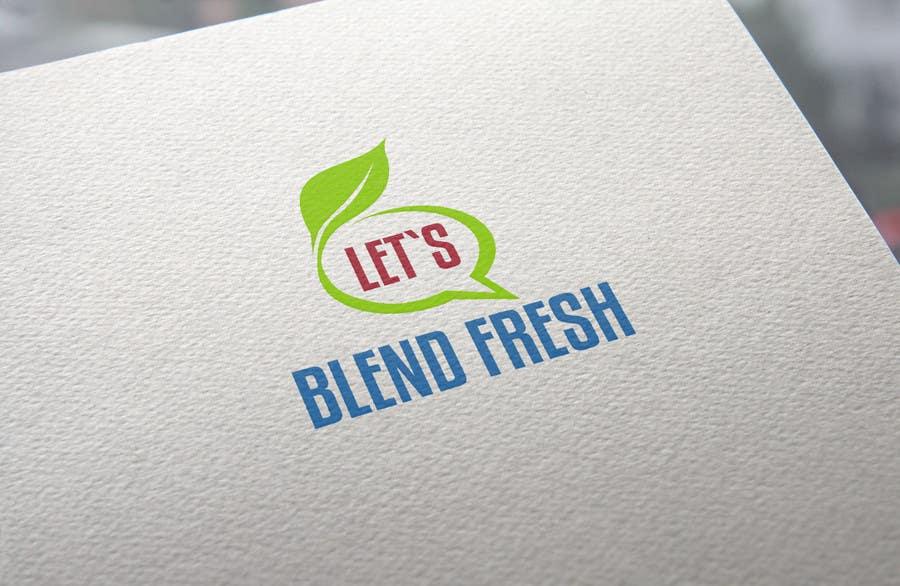 Bài tham dự cuộc thi #                                        30                                      cho                                         Redesign a Logo for Let's Blend Fresh