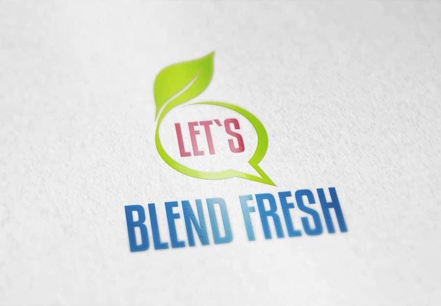 Bài tham dự cuộc thi #                                        31                                      cho                                         Redesign a Logo for Let's Blend Fresh