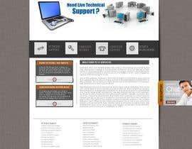 #18 para Wordpress Theme Design for IT Tech Support Help $650 to $1000 por fransievn