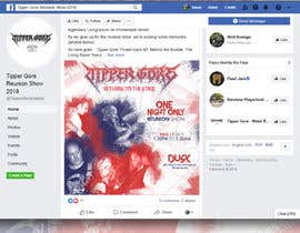 """#14 cho Facebook ad, posts, and art. Design a digital """"gig flyer"""" for my metal band's concert. bởi sayannandi41"""