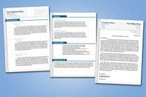 Graphic Design Konkurrenceindlæg #5 for Graphic Design for CV and cover letter