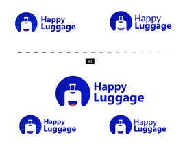 "#40 for create a visual/logo ""happy luggage"" by HamzaShz"