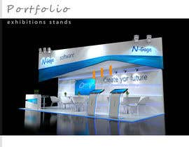 #3 for 3D exhibition stand by Michaelldesign